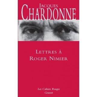 Lettres à Roger Nimier