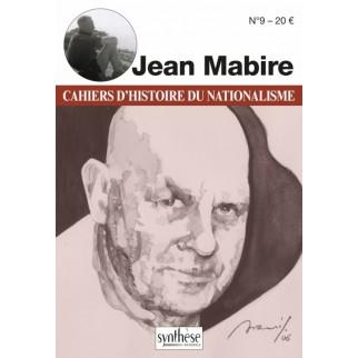 Jean Mabire - Cahiers d'Histoire du Nationalisme - n°9