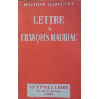 lettre Mauriac