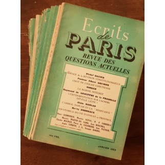 écrits de paris 1953