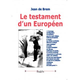 Le testament d'un Européen