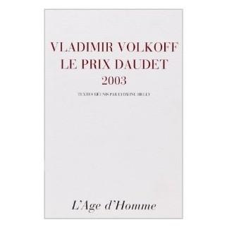 Le prix Daudet, 2003