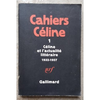 Cahiers Céline 1