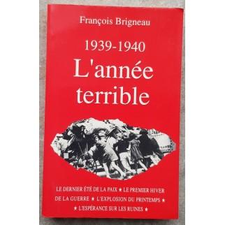 l'année terrible Brigneau