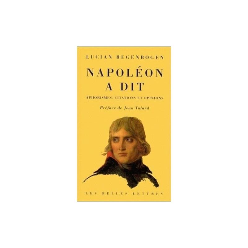 citations Napoléon