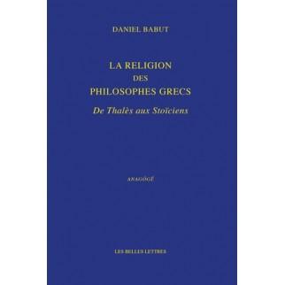 religion des philosophes grecs