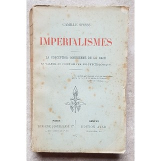 Impérialismes. La conception Gobinienne de la race