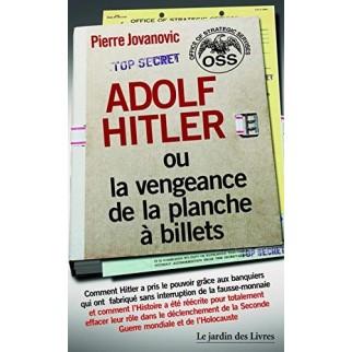 Hitler planche à billets Jovanovic