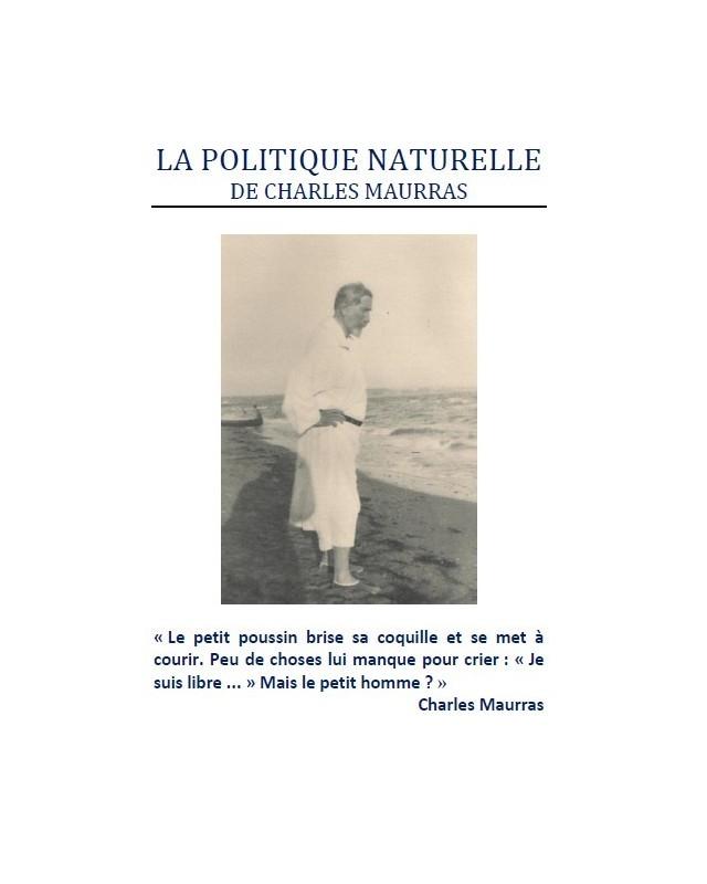 politique naturelle Maurras