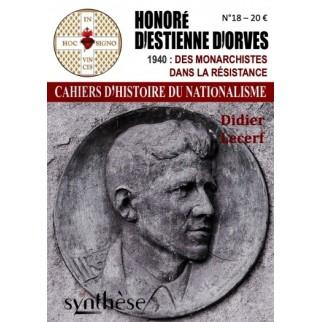 Honoré d'Estienne d'Orves, des monarchistes dans la Résistance.