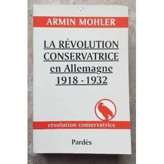 La révolution conservatrice Mohler