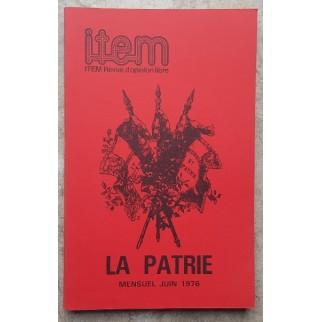 Item - La Patrie