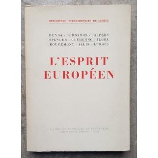 L'esprit européen
