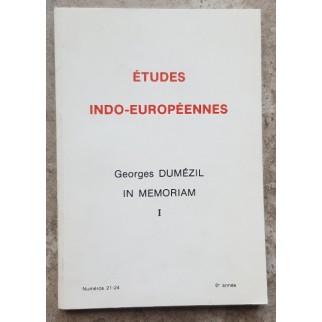 Etudes indo-européennes...