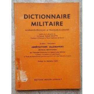 Dictionnaire militaire...