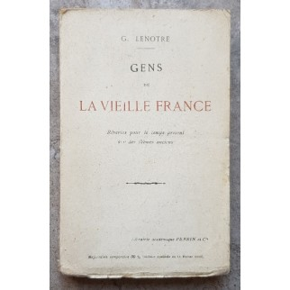 Gens de la vieille France