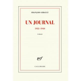 Un journal. 1933-1940.