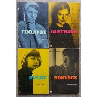 Lot 4 volumes: Suède,...
