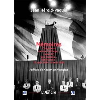 Mémoires de Jean Hérold-Paquis