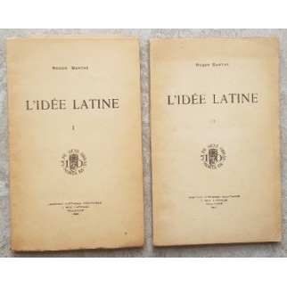 L'idée Latine. 2 T.