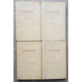 Journal. Mémoires de la vie...